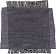 Smooth, soft, two-tone, hand woven, smoke dark grey, gray Thai Silk