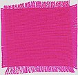 Bright magenta Thai silk - 100% pure, smooth, soft, & hand woven!