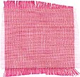 pure Thai Silk: white | magenta two-tone hand woven
