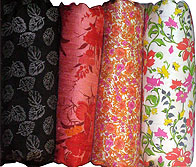 Pure Thai silk fabric prints Set Two