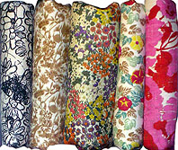 Thai Silk Fabric Prints Set Three