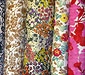 Pure Thai silk fabric prints Set 3