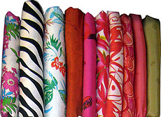 Pure Thai Silk Fabric Prints Set Eight